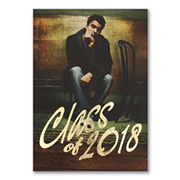 Gleaming Moment - Photo Graduation Invitation